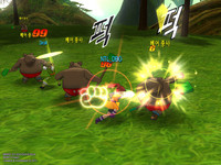 Dragon Ball Online Lucha Tres
